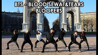 """BORN EATER - BTS """" Blood Sweat & Tears """" Dance Cover BLOOPERS"""