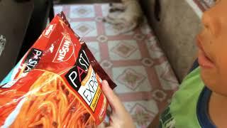 Nissin Pasta Express snack for kids