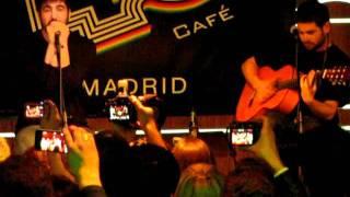 """ESTOPA. ShowCase en Café 40 Principales """"Un rincón de mi mundo (Madrid, 26/01/2012)"""