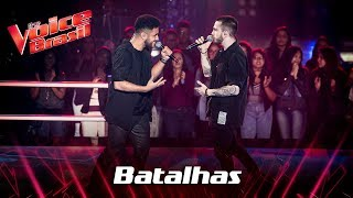Arthur Henrique e Dreicon cantam 'There's Nothing Holding Me Back' nas Batalhas - The Voice Brasil