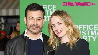 Jimmy Kimmel & Pregnant Wife Molly McNearney Attend The