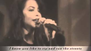 2Pac ft Aaliyah   Back in One Piece with Lyrics HD 2012