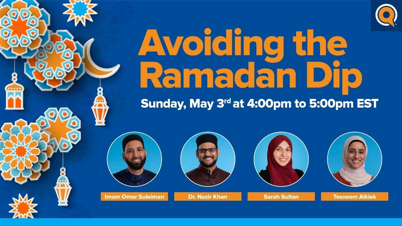 Avoiding the Ramadan Dip | Webinar