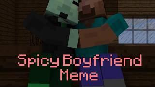 SPICY BOYFRIEND MEME (Valentine's Day Special) - Minecraft Animation