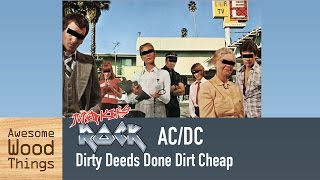 Makers Rock - AC/DC Dirty Deeds Done Dirt Cheap