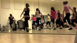 Zumba Fitness with Talia OBJECTION - SHAKIRA (Tango/Samba)