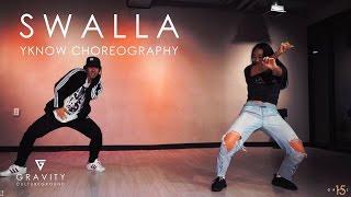 SWALLA - Jason Derulo | YKNOW CHOREOGRAPHY | GRVTZN YT