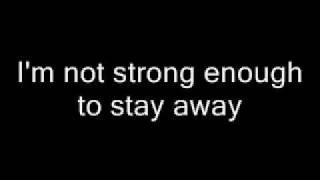 Apocalyptica- Not Strong Enough Lyrics