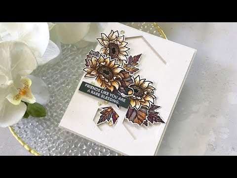 Watercolored Autumn Blessings w/Janette Kausen