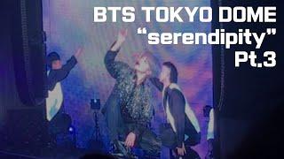 BTS tokyo dome - jimin solo serendipity 3/3 jimin cam (20181114) 방탄소년단 도쿄돔 지민 세렌디피티