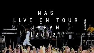 1500 Or Nothin (BAND) LIVE ON TOUR WITH NAS IN JAPAN 2012