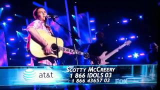 Scotty McCreery Check Yes Or No Live