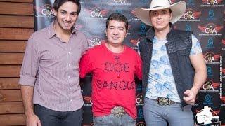 Conrado e Aleksandro apoiam o João Franco na Campanha de Doação de Sangue