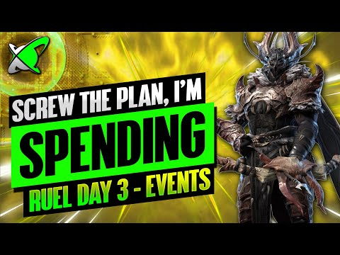 I'M SPENDING FOR MORE EVENT POINTS | Ruel The Huntmaster Day 3 | BGE's Guides | RAID: Shadow Legends