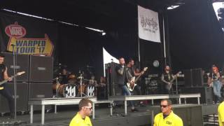 Memphis May Fire *NEW SONG* - Virus live at Warped Tour 2017 in Salem, OR
