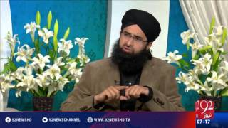 Subh e Noor - 21-03-2016 - 92NewsHD