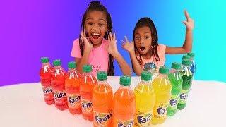 Don't Choose The Wrong Fanta Soda Bottle Slime