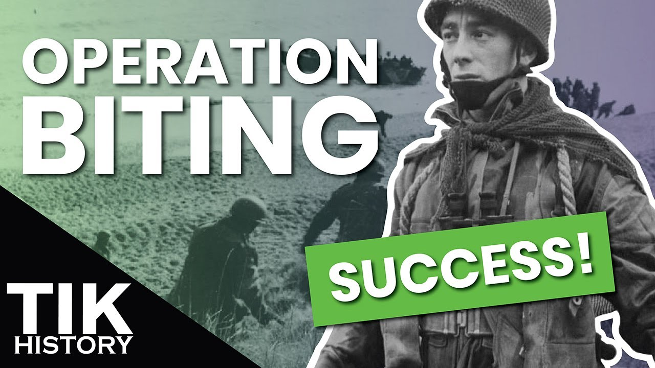 The First Successful British Parachute Raid - Operation Biting 1942