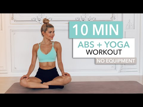 10 MIN ABS + YOGA - a slow and