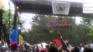 Kenny bobien at the 2012 lincoln park music fest