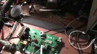 Homebrew PANDA-1 QRP SSB/CW transceiver