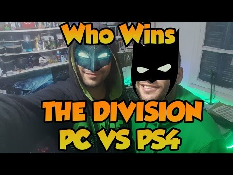 The Division Pc VS Play Station 4