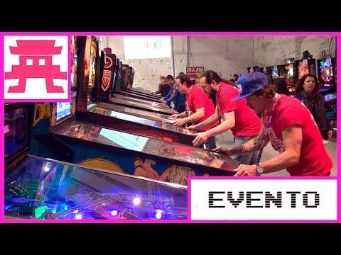 Videoclip Torneo Internacional de Pinball de Barcelona (TBAP 2018)