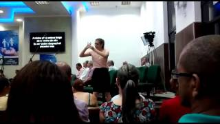 210 - Quando Jesus Estendeu a sua Mão (LIBRAS)