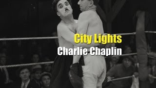 Charlie Chaplin Boxing Scene - City Lights (1931)