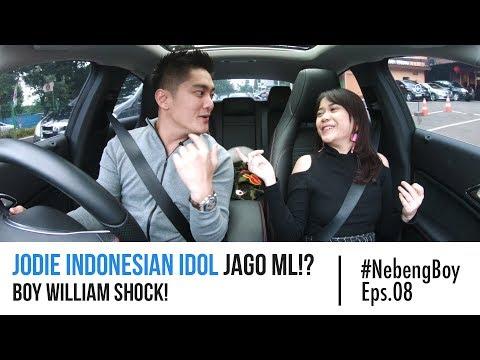 Download Video Jodie Indonesian Idol Jago ML!? Boy William Shock! - #NebengBoy Eps 08