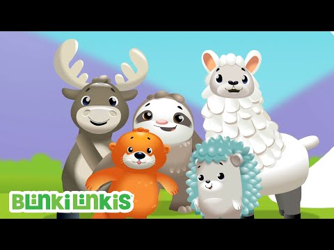 Das Lied der Gegenteile | BlinkiLinkis | Fisher-Price Deutsch | Kinderlieder | Cartoons für Kinder