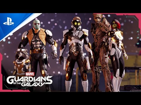 Marvel?s Guardians of the Galaxy - Launch Trailer   PS5, PS4, deutsch