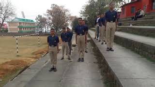 DRILL BY NCC CADETS width=