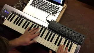 Lion and the Lamb- Bethel Worship MainStage patch keyboard demo