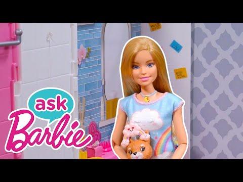 Frag Barbie zu ihrem besonderen Wellness-Tag + GESICHTSMASKEN DIY & BADEZIMMER TOUR 