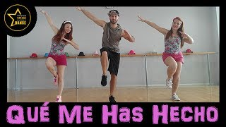 Qué Me Has Hecho | Chayanne FT wisin| zumba | Andrea Stella Choreo Dance