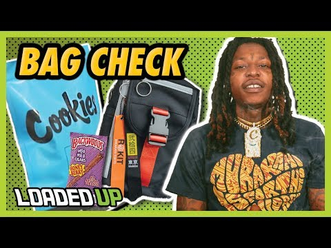 Nef The Pharaoh Shows Us What's In His Bag | Loaded Up