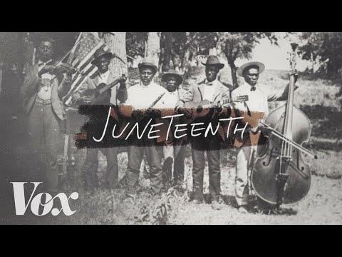 Receipt, Juneteenth, African Americans