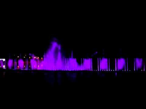 #1 Dancing Fountain Roshen Vinnitsa Ukraine 2011 – largest digital fountain in Europe!! – video # 2