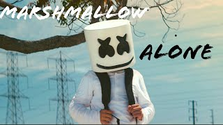 Marshmallow Alone sad WhatsApp status
