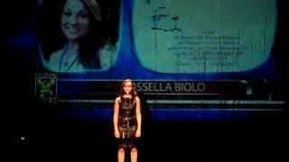 Nice Voice Festival 2016 Rossella Biolo Sez. Interpreti