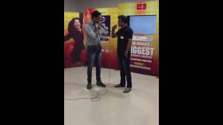 Corporate singing talent competition (Mumbai) - Awesome song - Tu is tarah se Meri zindagi me
