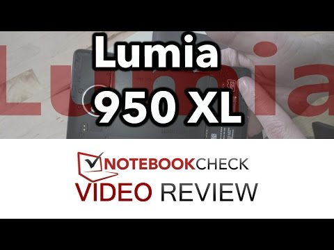Lumia 950 XL smartphone review and test results. (Detailed)