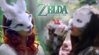 """Zelda: Ocarina of Time - """"Title Theme"""" - Jillian Aversa feat. Erutan - Vocal / Ocarina Arrangement"""