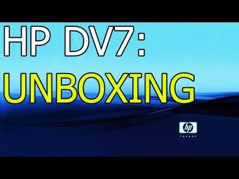 HP DV7-7063EA Unboxing!