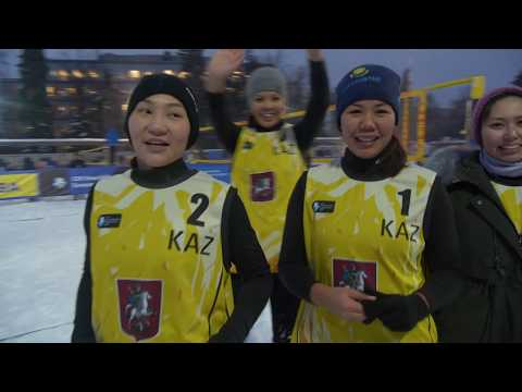 Friday Highlights | Snow Volleyball European Tour 2019, Moscow