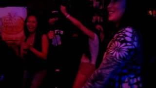 Singing karaoke to Pharrell's-Frontin