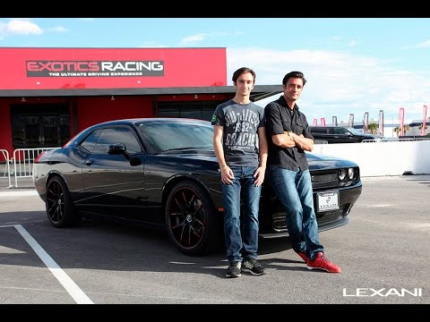 Happy birthday Georges Marini!   Thanks to Gilles Marini, Magnaflow exhaust, KN Filters, and Exotics Racing for making this collaboration a success.  LEXANI.COM  Modified Dodge Challenger Special thanks to K&N Filters, Magnaflow, Gilles Marini, and Exotics Racing Las Vegas.  R-Twelve Black and Red Tip Wheels   Lexani Concave Super Sport Series