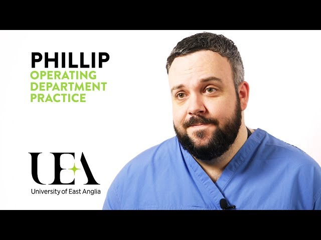 Operating Department Practice: Philip's story - video