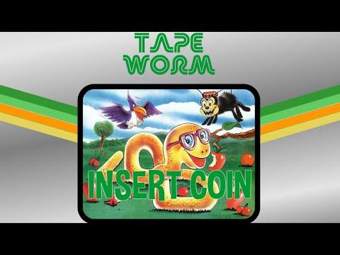Tape Worm (1982) - Atari 2600 - 1 Loop